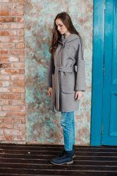 Длинное прямое пальто  из шерсти - 1