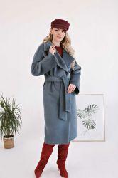 Удлиненное прямое пальто  из шерсти - 2