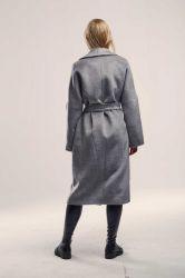 Удлиненное прямое пальто  из шерсти - 1